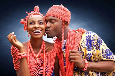 Coverlet Indigenous Nigerian Wedding Attires And Bridal Looks
