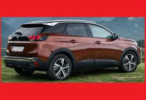 Peugeot 3008 Specifications New Car Specs And Review