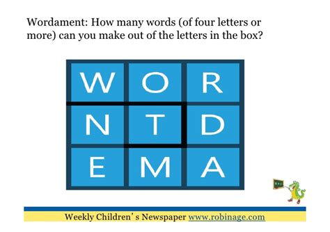 make words out of letters learning for 10 brainteasers 1495