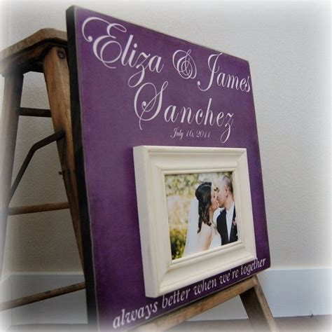 picture frame guest book wedding radiant orchid radiant orchid wedding wedding gift