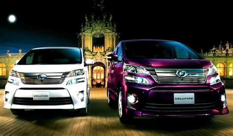 toyota japan website different between vellfire and alphard autos post
