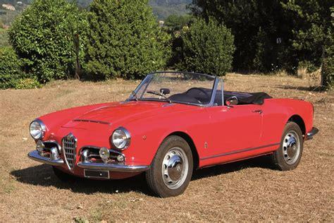 Alfa Romeo 1600 by Alfa Romeo Giulia Spider 1600 1963 Auto Classiche