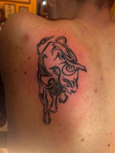 tribal bull tattoo meaning 10 magnificent tribal bull tattoos only tribal
