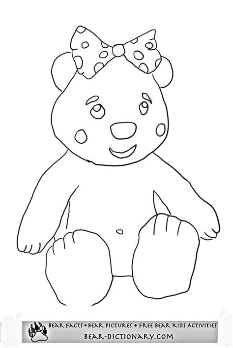 pudsey template printables in need pudsey coloring pagetoby