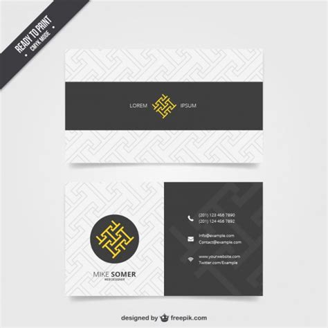 visit card template ai visit card template vector free