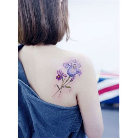 watercolor tattoo korea best 25 iris ideas on iris flower