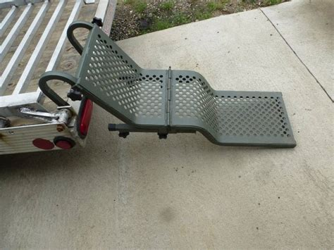 gunnel boat ladder aluminum dog ladder ncs rv liquidation hunting equip