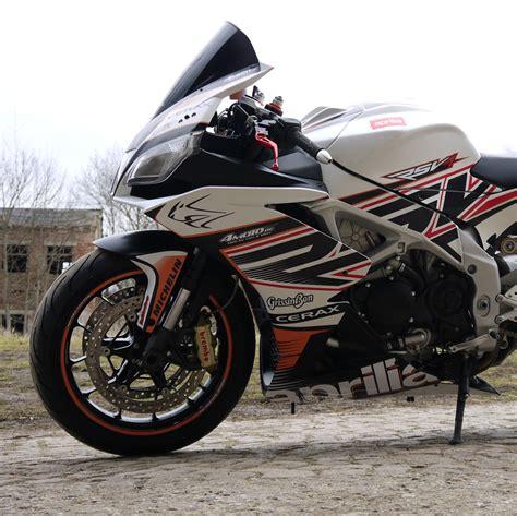 Aprilia Aufkleber by Motorradaufkleber Bikedekore Wheelskinzz Aprilia