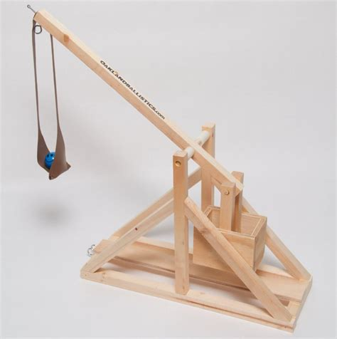 How To Make A Paper Trebuchet - wooden catapult design catapult by hextrust a isometric
