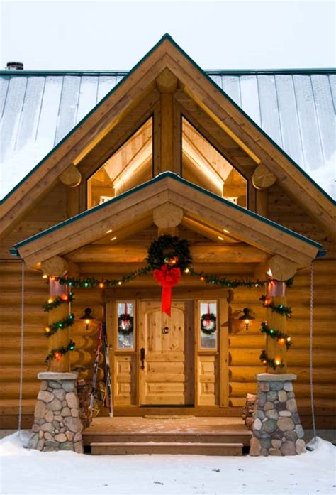 christmas decorating ideas for log homes i de a countdown 1 day