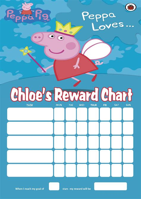 picture of the peppa pig reward chart download the free 8 best images of peppa pig reward chart free peppa pig