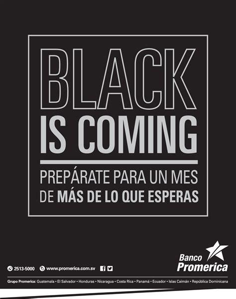 banco promerica banco promerica quiere que te prepares black friday 2013