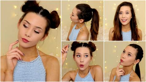 tutorial dance that s what i like 4 festival summer hairstyles easy hair tutorials youtube