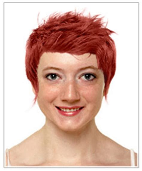 upside down triangle pubic hair heart shaped face short hairstyles