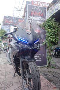 Tankpad Dan Fuel Pad 250 5 modifikasi honda all new cb150r led ridergalau