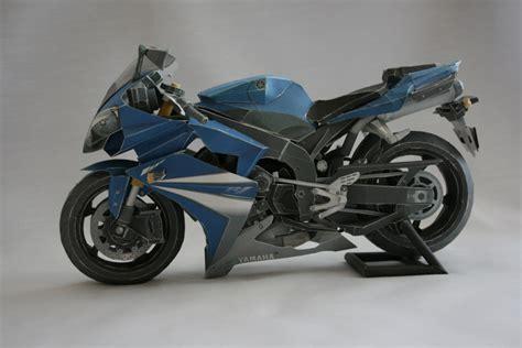 Yamaha Papercraft Motorcycle - papercraft yamaha yzf r1