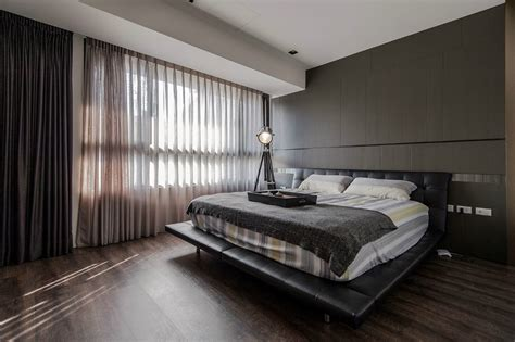 Masculine Bedroom Design And Wood Make A Masculine Interior