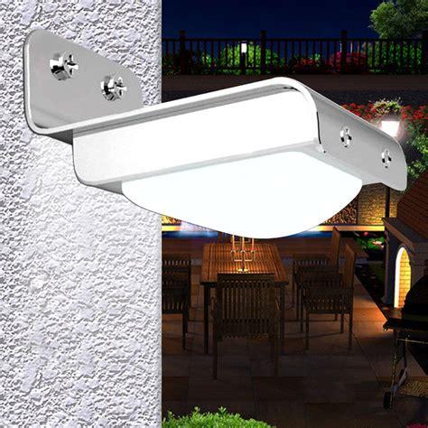 motion activated porch light solar lights at garden sensation