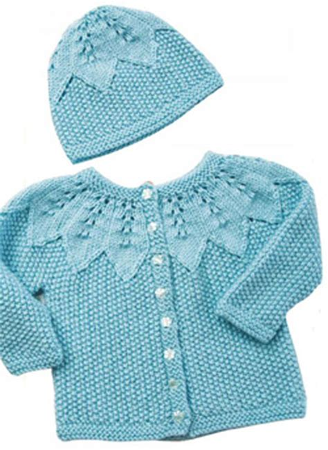 sweater pattern knit side to side baby cardigan and hat knitting pattern free