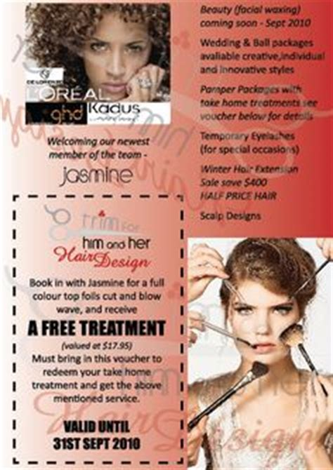 1000 Images About Salon Advertising On Pinterest Salons Salon Promotions And Flyers Hair Salon Newspaper Ad Templates