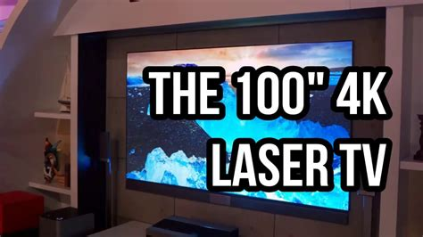 hisense 100 inch laser tv review hisense 100 inch 4k laser tv review bigger is better