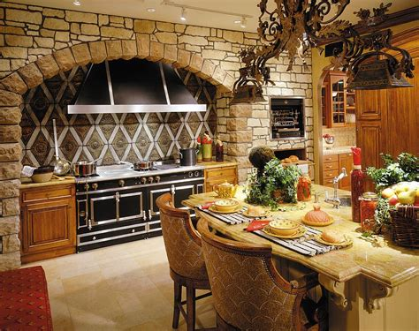 stone home decor 30 inventive kitchens with stone walls