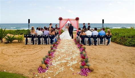 Wedding Ceremony Kauai by Grand Hyatt Kauai Cheap Vacations Packages Tag Vacations