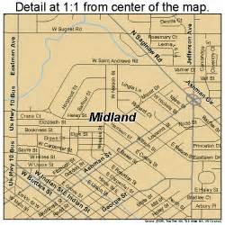 midland county map midland michigan map 2653780
