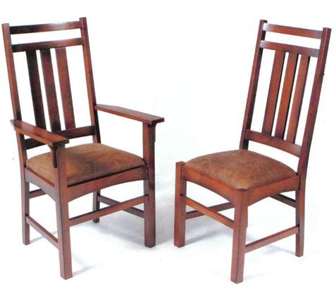 mission dining room chairs amish prairie mission dining chair