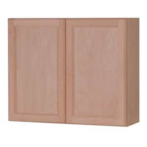 Lowes Unfinished Wall Cabinets Shop Style Selections 36 In W X 30 In H X 12 6 In D