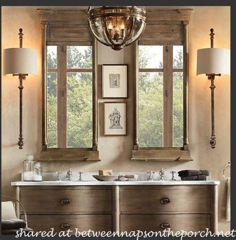 restoration hardware bathtubs restoration hardware inspired bathroom renovation