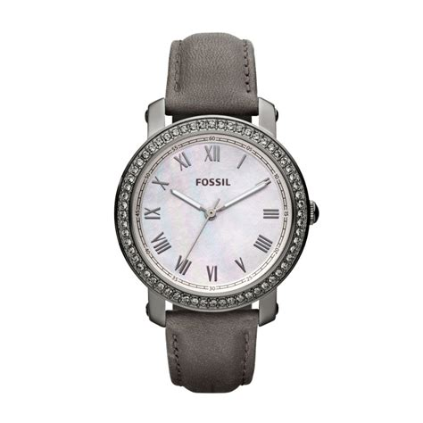Fossil Grey fossil leather grey es3188 fossil 174