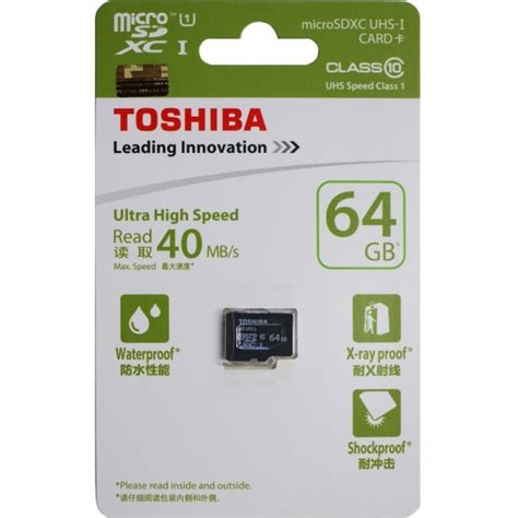Microsd Toshiba 64gb 64gb microsd xc cards from toshiba and sandisk