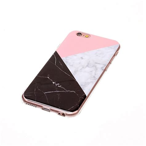 Iphone 6 Plus Soft Pink Pattern With Iring Luxury for iphone 6s plus 6 plus pink black color matching