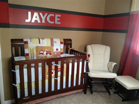 firefighter baby room themes our firefighter nursery jayce michael