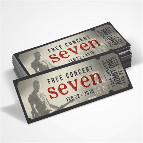 design of event tickets missionary prayer cards e newsletters