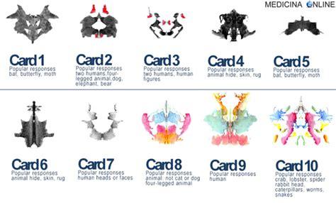 10 tavole di rorschach test di rorschach immagini a cosa serve interpretazione