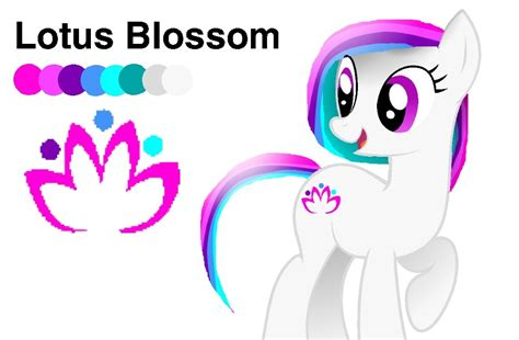 pony oc template my pony friendship is magic images lotus blossoming