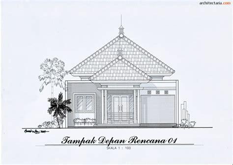 desain rumah deco ukuran 8 m x 17 m pt architectaria media cipta