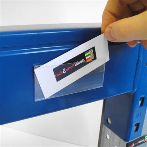 Plastic Shelf Labels by Plastic Magnetic Label Holders 39mm X 100mm Rack Shelf
