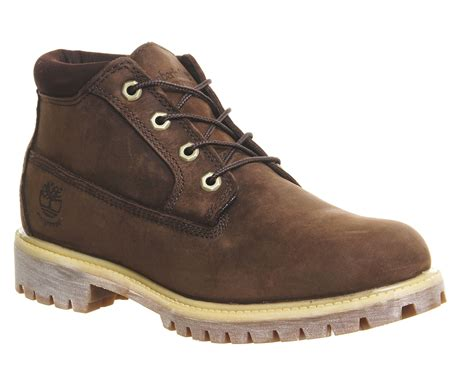 timberland boat shoes jones timberland icon chukka boots in brown for men lyst