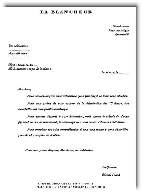 Exemple De Lettre Recommandée Faire Une Lettre De R Clamation