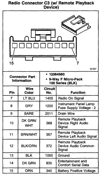 Replacing the OEM plug on back of oem radio, need to know