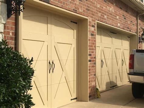 Overhead Door Oklahoma City Custom Smart Trim Farmhouse Garage Oklahoma City By Trotter Overhead Door Garage Home