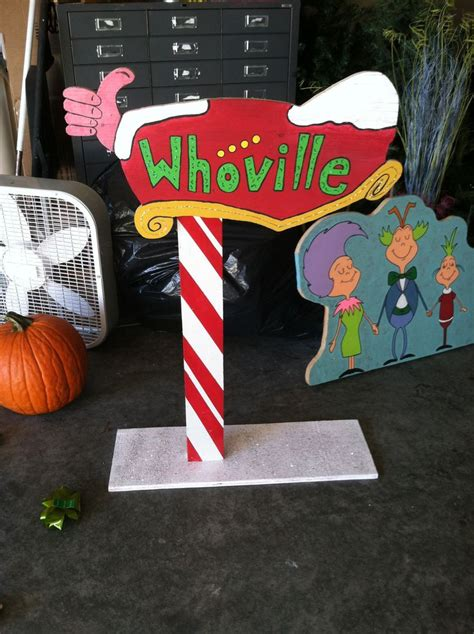 whoville sign pin by rhonda owens on whoville