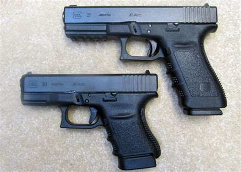 glock 17 vs glock 19 vs glock 26 glock 21 review glock 21sf review home defense weapons