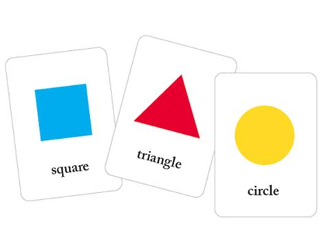 geometric shapes flash cards pictures to pin on pinterest downloadable geometric shape flash cards pictures to pin