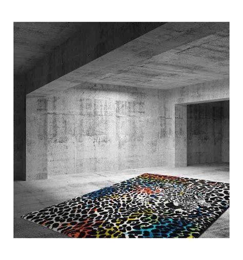 tappeto leopardato tappeto moderno per soggiorno aztec 496 leopardato