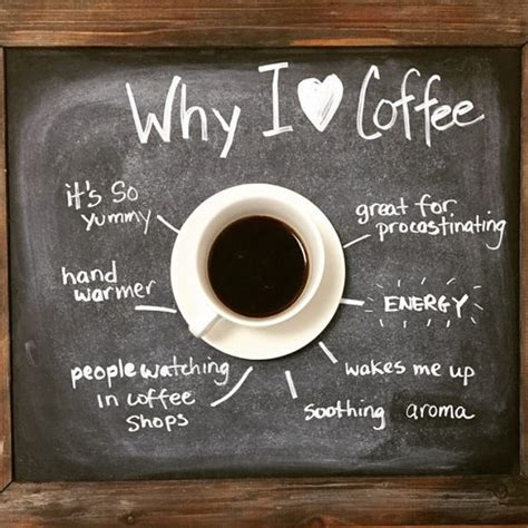 CoffeeLovers   share to us why do you love #coffee