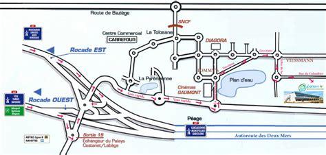 Plan d'accès 6NERGY
